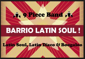 Barrio Latin Soul website